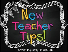 Get ready fro school with these tips for new teachers! Seusstastic Classroom Inspirations: New Teacher Tips-Summer Linky Party Teacher Organization, Teacher Tools, Teacher Hacks, Teacher Resources, Teacher Stuff, Organization Ideas, Teacher Freebies, Teacher Binder, Classroom Resources