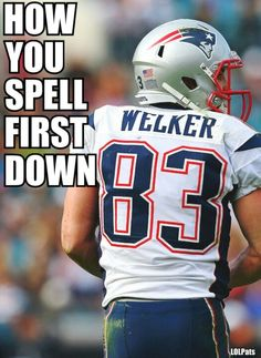 huge selection of dae2b 94ed9 Wes Welker, one of the 10 best OEs in Pro Football history!