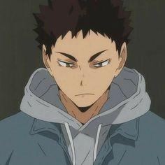 "kylie ;) 《is currently excited for vb this week》 on Twitter: ""osamu… "" Iwaizumi Hajime, Iwaoi, Kenma, Kuroken, Haikyuu Characters, Anime Characters, Hinata, Mabuchi Kou, Forehead Kisses"