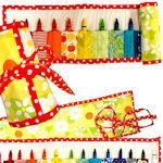 9 Crayon/Pencil Roll Tutorials and patterns