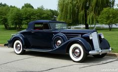 1937 Packard Twelve Coupe Roadster | Car Pictures