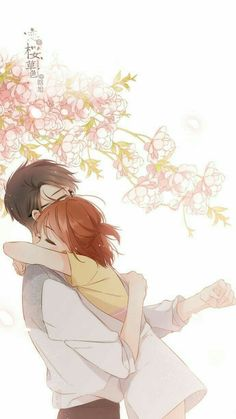 "Anime Couples I could be wrong.but this looks like Hana and Mr. Jin from ""A Good day to be a Dog"" :D Anime Couples Drawings, Anime Couples Manga, Couple Drawings, Cute Anime Couples, Art Drawings, Anime Couples Cuddling, Anime Couples Sleeping, Couple Cuddling, Couple Hugging"