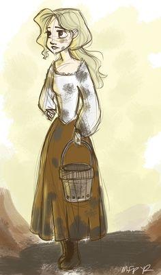 Peasant girl.