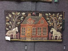 Rugs and Pugs: ATHA Rug Show ~ Part One Wow! Thank you so much for posting these. Especially for those of us who didn't make it this year! Hook Punch, Hand Hooked Rugs, Primitive Hooked Rugs, Primitive Decor, Rug Hooking Patterns, Rug Patterns, Latch Hook Rugs, Rug Inspiration, House Quilts