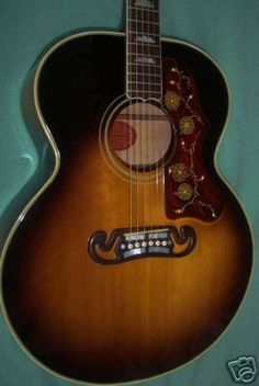 1959 Gibson J-200 Vintage Acoustic Guitar....oh so pretty. : )