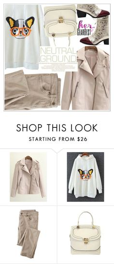 """""""Cool Neutrals"""" by teoecar on Polyvore featuring Wrap"""