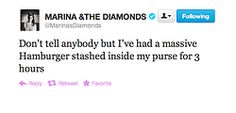 funny marina and the diamonds twitter - Google Search