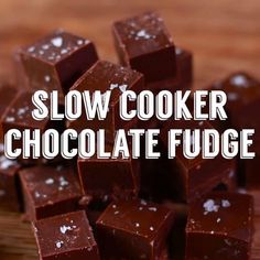 Did you know that you can make chocolate fudge in your slow cooker? You'll love how easy this recipe is, and how amazing the fudge tastes! Follow the simple step-by-step instructions, and serve up this yummy fudge at your next family gathering.