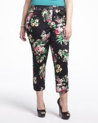 printed ankle pants, Addition Elle, plus size, fashion, trends Elle Fashion, Curvy Fashion, Plus Size Fashion, Fashion Trends, Addition Elle, Printed Pants, Ankle Pants, Bohemian Style, Passion For Fashion