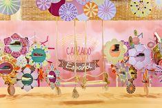 Messe pro Kinderschuhmarken hinaus jener FIMI by Masquespacio, Valencia - Spanien . Shoe Display, Display Design, Booth Design, Store Design, Shop Interior Design, Retail Design, Interior Design Inspiration, Design 3d, Design Blog