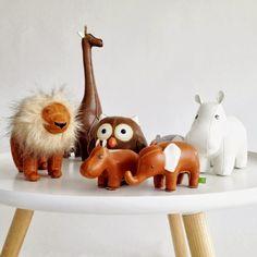 lovely ZUNY leather animals