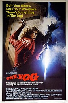 John Carpenter's The Fog 1980 Original Vintage US One Sheet Movie Poster