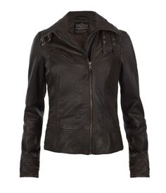 Belvedere Leather Jacket by AllSaints Spitalfields. A little pricey but every girl deserves a great leather jacket. All Saints Leather Jacket, Leather Jackets, What To Wear, Jackets For Women, My Style, Casual, Clothes, Outfits, Shopping