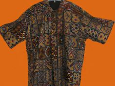 """Madiba Shirt"" Madiba Shirt, Short Sleeves handcrafted in quality crafted Traditional patterned cotton fabric.Available in small,medium,large and extra large. BUY NOW @ www.auldco.co.za Exchange Rate, Cotton Fabric, Short Sleeves, Men Casual, African, Ads, Traditional, Medium, Mens Tops"