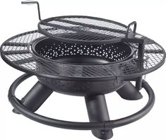Fire Pit Grill, Fire Pit Backyard, Backyard Patio, Fire Pits, Backyard Fireplace, Backyard Kitchen, Outdoor Fireplaces, Backyard Retreat, Backyard Landscaping