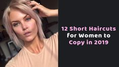 12 Pretty Lob Haircut Ideas To Try in 2019 Short Layered Bob Haircuts, Haircuts For Wavy Hair, Stacked Bob Hairstyles, Haircut For Thick Hair, Short Wavy Hair, Best Short Haircuts, Short Hair Cuts For Women, Straight Hairstyles, Short Hair Styles