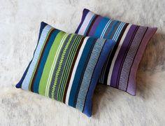 Alpaca pillows from Bolivia
