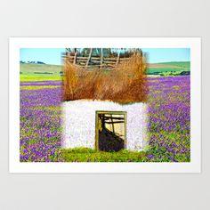 Purple House Art Print by crismanart Purple Home, Home Art, My Photos, Art Prints, Artwork, House, Art Impressions, Work Of Art, Auguste Rodin Artwork