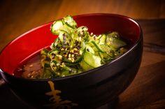 Saladinha de pepino japonês. #fotografo #alimentos #culinaria #gastronomia