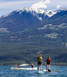 #SUP, Purcell Mtns shared by @KasloKayaking on our website's 6 live feeds.