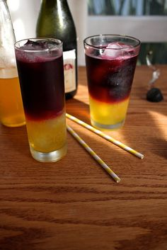 Clementine and Red Wine Spritzers by joy the baker. wow.