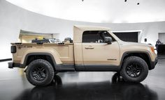 View Comanche Lives Again: Jeep Turns the Renegade Into a Diesel-Powered Trucklet for Easter Safari Photos from Car and Driver. Find high-resolution car images in our photo-gallery archive.