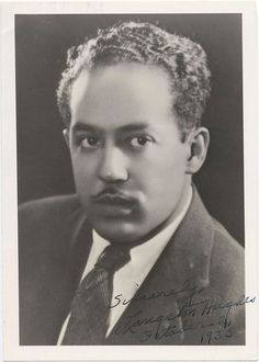 Part of the set Famous Faces in Black History. For more on the African American experience visit Discover Black Heritage. African American Writers, African American Culture, American Poets, Langston Hughes, James Weldon Johnson, Coloured People, People Of Interest, Harlem Renaissance, Black History Month