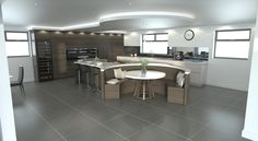 Our Bespoke CAD System Using the latest three dimensional computer–aided desi. - Our Bespoke CAD System Using the latest three dimensional computer–aided design software creative - Kitchen Island Booth, Booth Seating In Kitchen, Kitchen Island Dining Table, Country Kitchen Island, Kitchen Booths, Open Plan Kitchen Diner, Kitchen Island With Seating, Kitchen Layout, Cad System