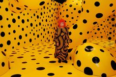 Yayoi Kusama, la libertad que da el arte