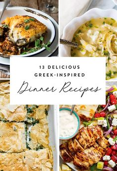 Save these quick and easy Greek-inspired dinner recipes to whip up on weeknights.