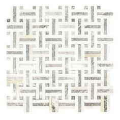 Jeffrey Court Windswept in. x in. x 8 mm Marble Mosaic Wall Jeffrey Court Windswept 13 in. x 13 in. x 8 mm Marble Mosaic Wall – The Home Depot … Honed Marble, Marble Wall, Marble Floor, Grey Mosaic Tiles, Marble Mosaic, Mosaic Bathroom, Bathroom Wall, Master Bathroom, Bathroom Ideas