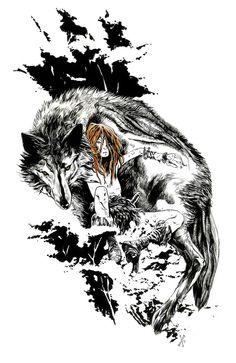 Max Fiumara #wolf #art #animals