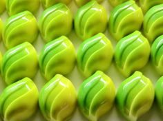 SoSubLime: Dark Chocolate Lime Ganache in a White Chocolate Shell