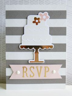 RSVP cardSeriously, you rock card for Hey Little Magpie using My Mind's Eye Fancy That collection