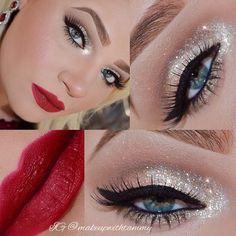 ❄️Used @eyekandycosmetics stunning limited edition glitter called Winter Wonderland. ❄... | Use Instagram online! Websta is the Best Instagram Web Viewer!