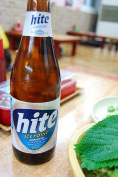 Este finde os invito a una Hite, la cerveza coreana más famosa