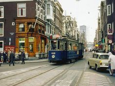 Photos from all decades. Amsterdam City Centre, Amsterdam Holland, New Amsterdam, Rotterdam, Utrecht, Edge City, Light Rail, Old Photos, Around The Worlds