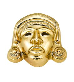 Mask 24 karat pure gold very exclusive custom made,more models  available for purchase, price from $13,000 and more upon request, mail for details art.nr 10102012-9