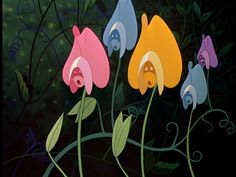 """Alice in Wonderland, the flowers, """"oh no!!!"""""""