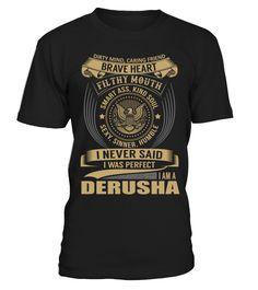 DERUSHA - I Nerver Said