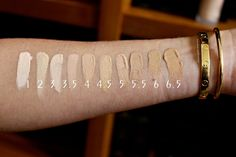 Armani power fabric foundation swatches Armani Face Fabric, Foundation Dupes, Foundation Colors, Beauty Professor, Makeup Swatches, All Things Beauty, Lancome, Cartier Love Bracelet, Foundation