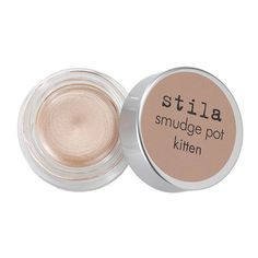 Stila Smudge Pot (78 RON) ❤ liked on Polyvore featuring beauty products, makeup, eye makeup, eyeshadow, beauty, filler, stila, gel eyeshadow, stila eye shadow and stila eyeshadow