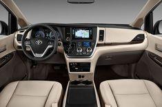 2017 Toyota Sienna Interior www.mercedtoyota.com