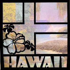 EZLaserDesigns : Aloha Hawaii Title