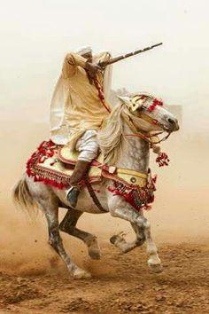 Moroccan horse rider
