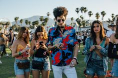 Coachella 2017: Crop Tops, Florals and the Best Street Style From the Ancestral Homeland of Festival Fashion Photos | W Magazine