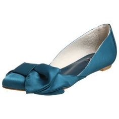 Gorgeous teal wedding shoes - wish i had shopped for better shoes i guess... vow renewal!