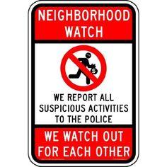 Amazon.com: neighborhood watch decals
