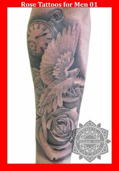 Rose Tattoos for Men 01