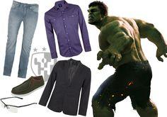 Inspiração The Avengers - Look Hulk